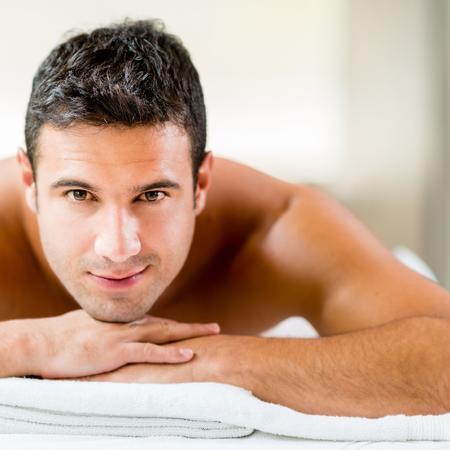 Männer Massage
